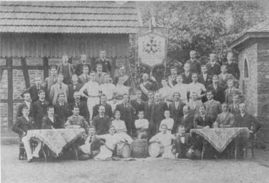 Der Turnverein im Jahr 1902